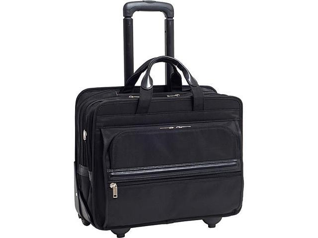 McKlein USA P Series Franklin Nylon 17in. Detachable-Wheeled Laptop Case
