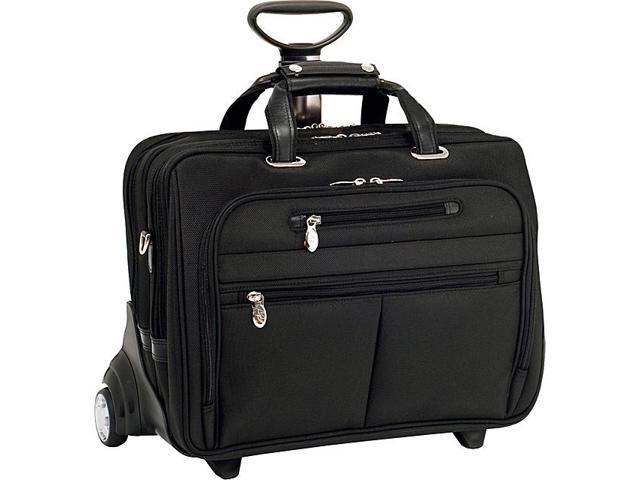 McKlein USA R Series Ohare Nylon Wheeled Laptop Case