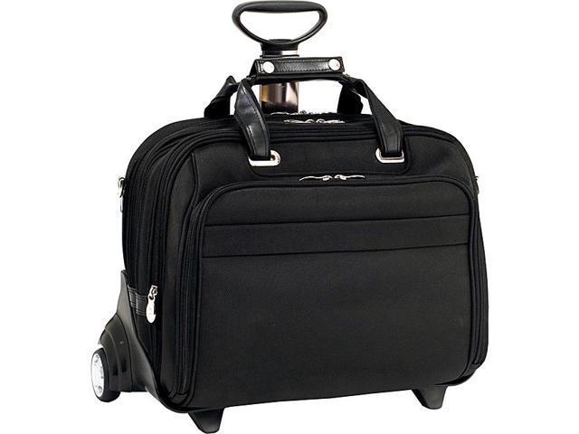 McKlein USA R Series Midway Nylon Wheeled Laptop Case