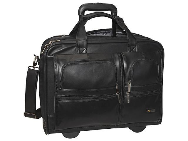 Classic Leather Rolling Case 15.6
