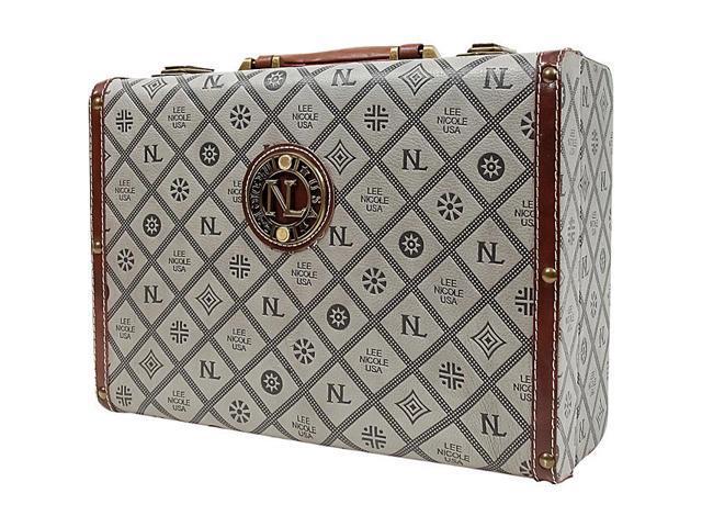 Nicole Lee Adela Embossed 14 Inch Briefcase