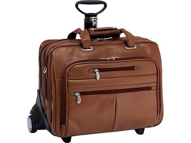 McKlein USA R Series Ohare Leather Wheeled Laptop Case