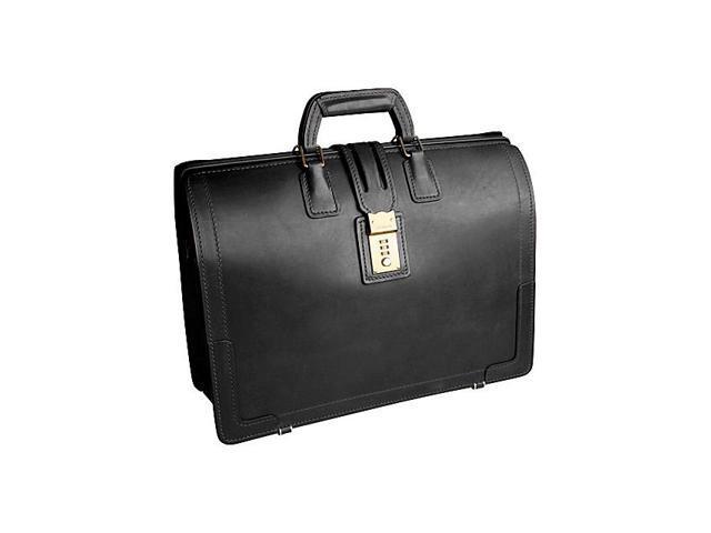 Korchmar CHURCHILL Belting Leather Brief Bag