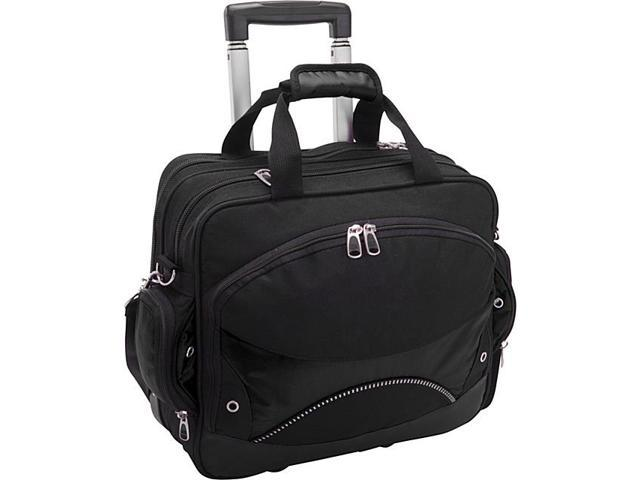 Traveler's Choice Techno Rolling Computer Briefcase