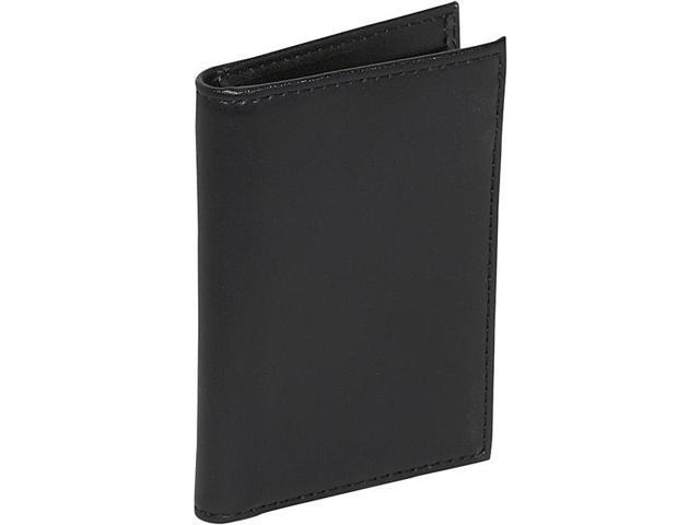 Royce Leather Business Card Case With Multiple ID Windows, Black - 402-BLACK-6