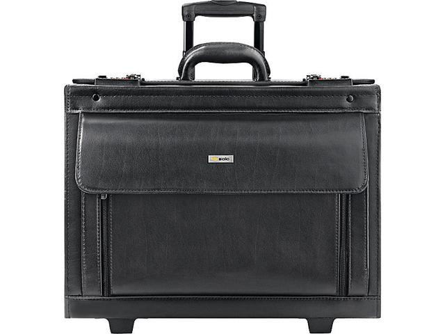 Classic Leather Rolling Catalog Case 16