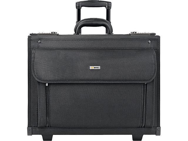 SOLO Rolling 17in. Laptop Catalog Case