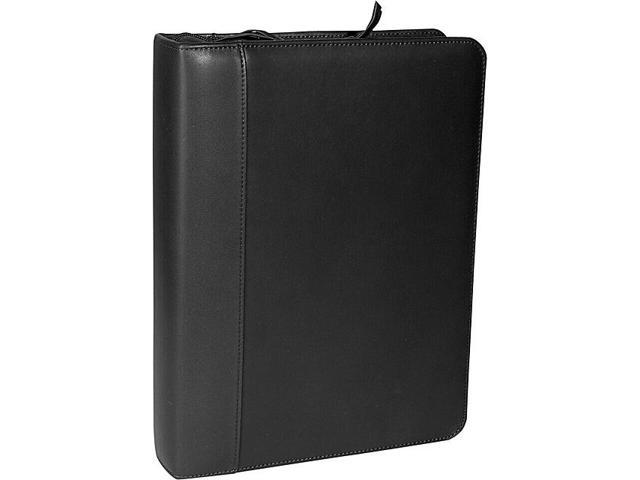 Royce Leather Deluxe Convertible Zip Around Binder/Folio