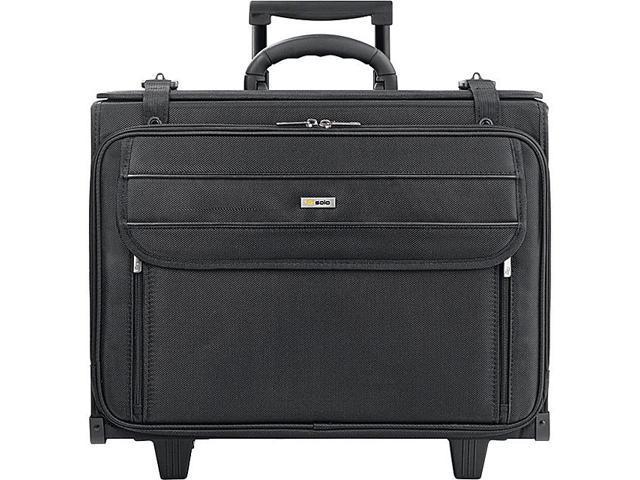 SOLO Rolling Laptop 17in. Catalog Case