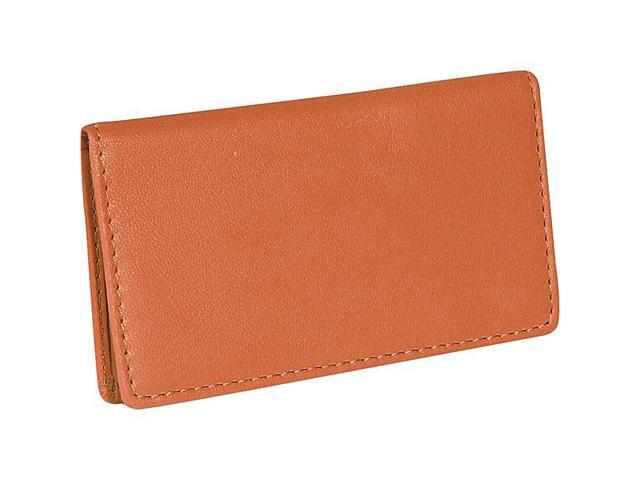 Royce Leather Classic Business Card Case, Tan - 401-TAN-5