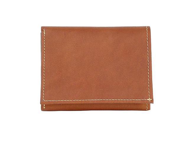 Piel Leather Mens Hipster, Saddle - 9058