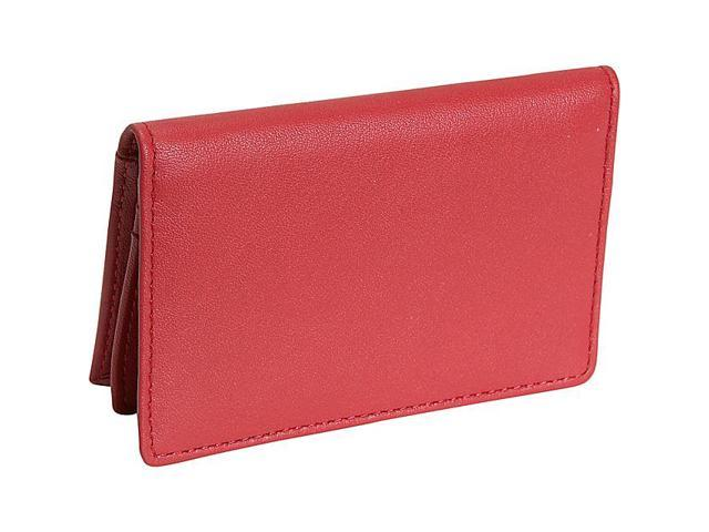 Royce Leather Executive Card Case, Red - 405-RED-5