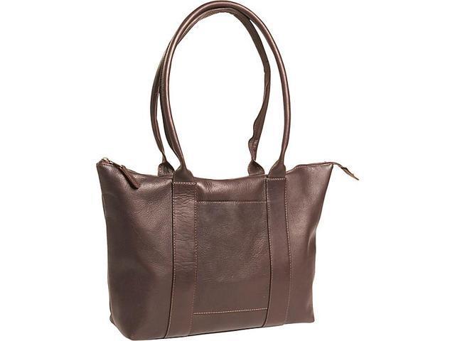 Clava Vachetta Leather Zip Tote
