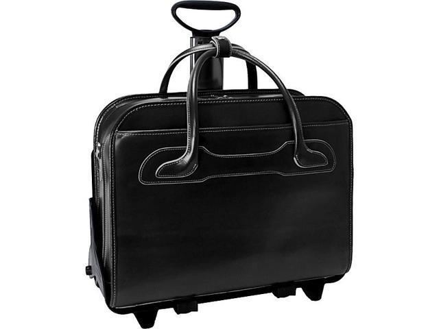 McKlein USA W Series Willowbrook Leather Detachable Wheeled Women's Laptop Case