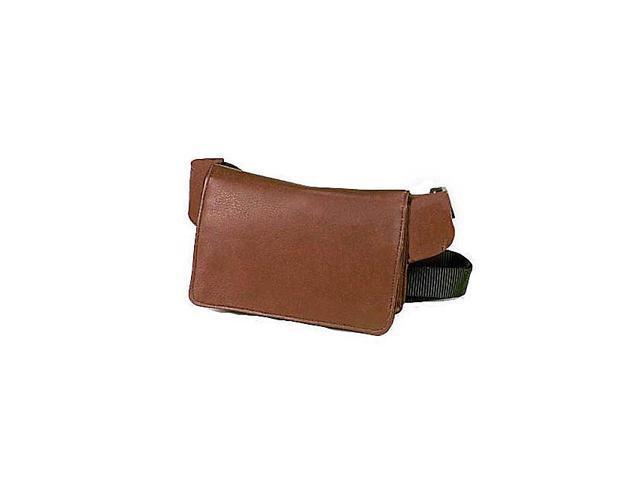 Clava Vachetta Leather Wallet on a Waist