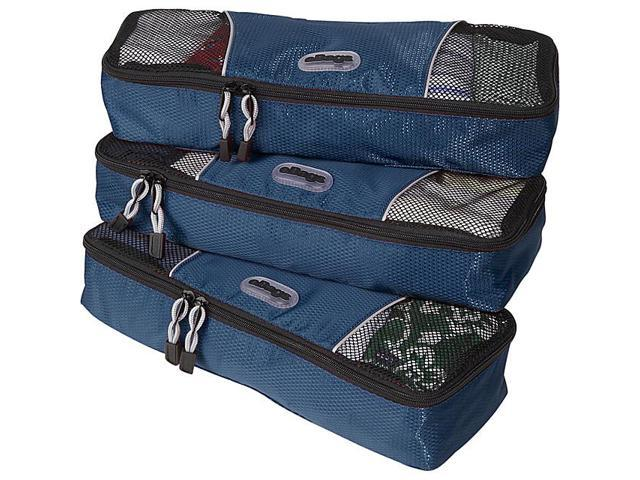eBags Slim Packing Cubes - 3pc Set - Denim