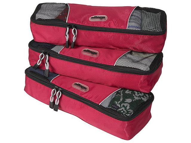 eBags Slim Packing Cubes (3pcs Set) - Raspberry