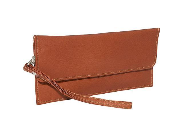 Piel Leather Travel Wallet, Saddle - 2855
