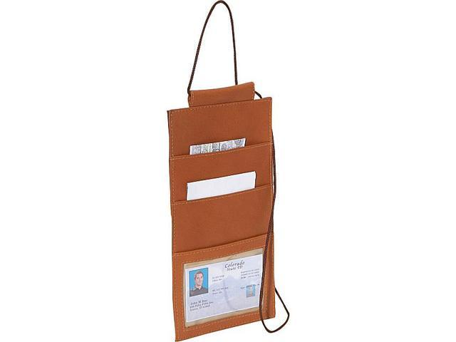 Piel Hanging Travel Wallet