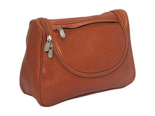 Piel Leather Hanging Utility Kit, Saddle - 2881