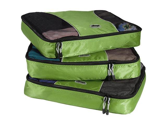 eBags Large Packing Cubes (3Pcs Set) - Grasshopper