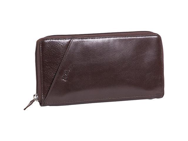Derek Alexander Leather Passport Travel Wallet