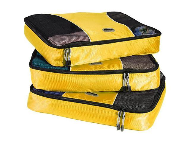 eBags Large Packing Cubes (3Pcs Set) - Canary