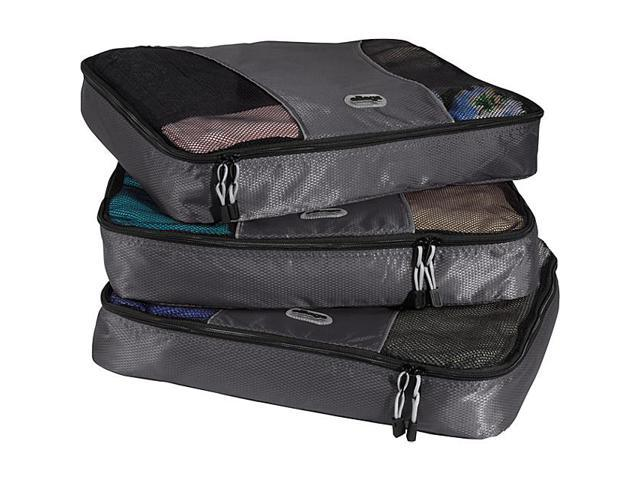 eBags Large Packing Cubes (3Pcs Set) - Titanium