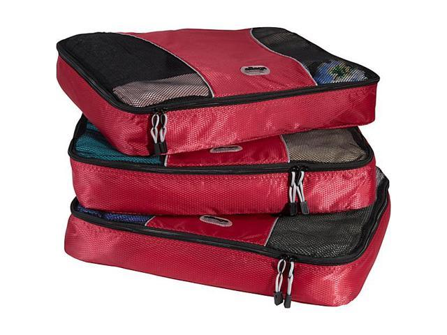 eBags Large Packing Cubes (3Pcs Set) - Raspberry