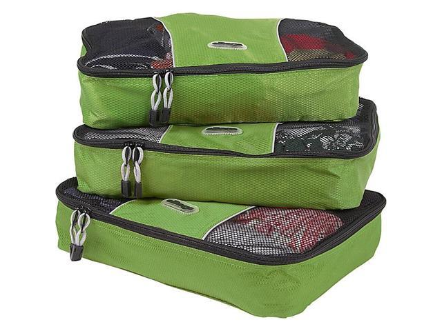 eBags Medium Packing Cubes (3Pcs Set) - Grasshopper