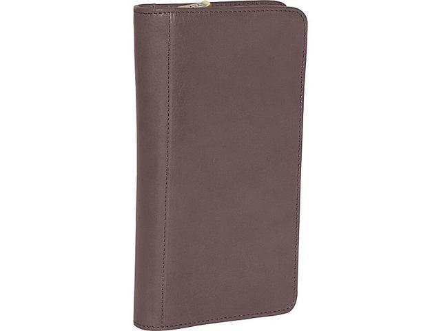 Clava Glazed Leather Passport Wallet