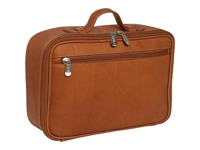Piel Leather Hanging Cosmetic Utility Kit, Saddle - 2275