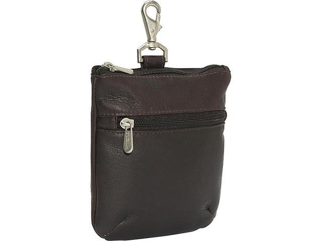 Piel Zippered Valuable Pouch