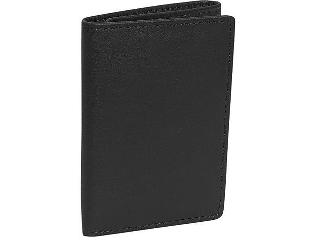 Royce Leather Men's Tri-Fold Wallet, Black - 103-BLACK-5