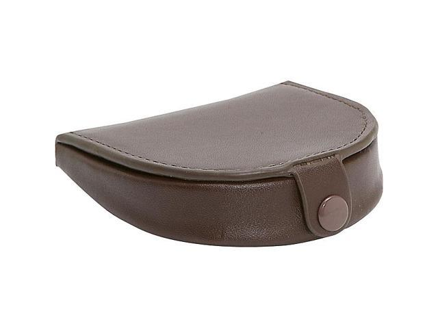 Royce Leather Coin Purse, Brown - 857-BROWN-6