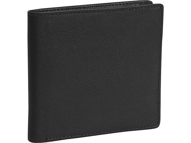 Royce Leather Hipster Wallet, Black - 106-BLACK-5