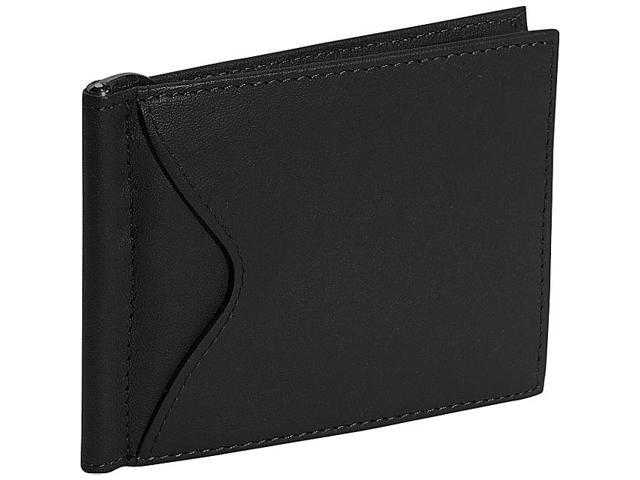 Royce Leather Men's Cash Clip Wallet With Outside Pocket, Black - 108-BLACK-5