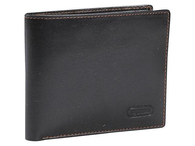 Leatherbay Classic Bi-Fold Leather Wallet
