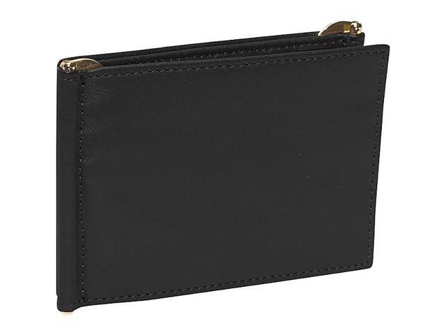 Royce Leather Men's Double Money Clip Wallet, Black - 113-BLACK-5