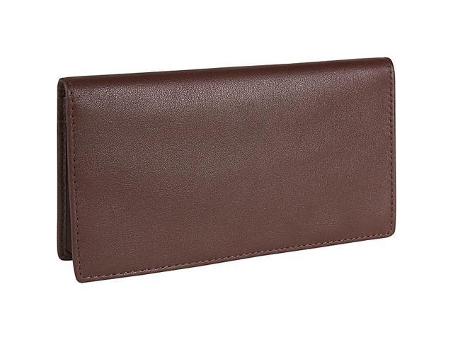 Royce Leather Checkbook Secretary, Coco - 145-COCO-5