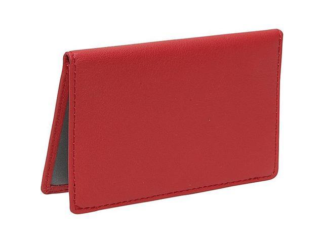 Royce Leather Mini ID Case, Red - 403-RED-5