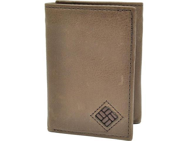 Columbia Trifold Wallet with Interior Zipper