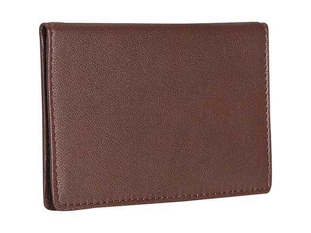 Royce Leather Mini ID Case, Coco - 403-COCO-5