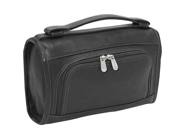 Piel Leather Half-Moon Utility Kit, Black - 9138-BLK