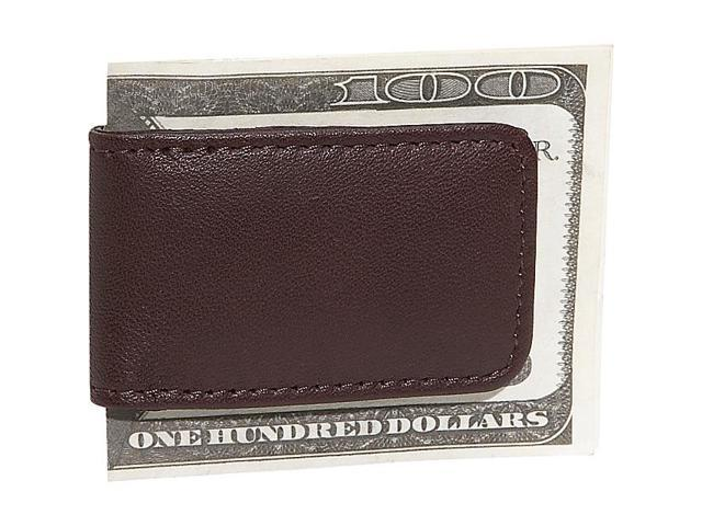 Royce Leather Classic Magnetic Money Clip, Burgundy - 810-BURG-5