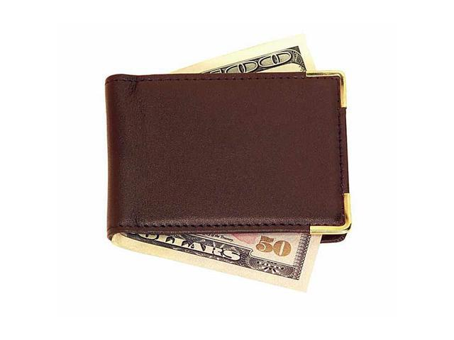 Royce Leather Large Magnetic Money Clip, Coco - 811-COCO-5