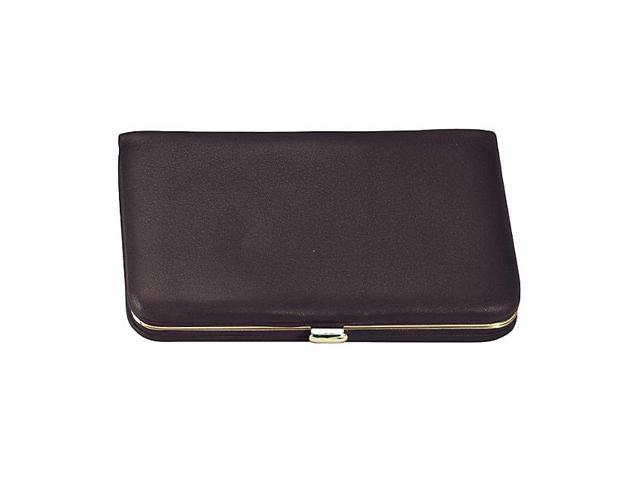 Royce Leather Framed Business Card Wallet