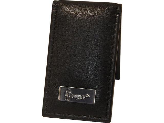 Royce Leather Nappa Prima Magnetic Money Clip, Black - 812-BLK-5