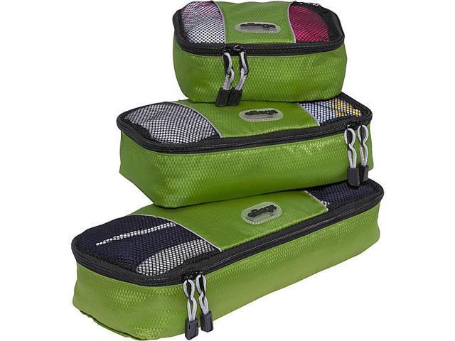 eBags Slim Packing Cubes (3PC Set) - Green
