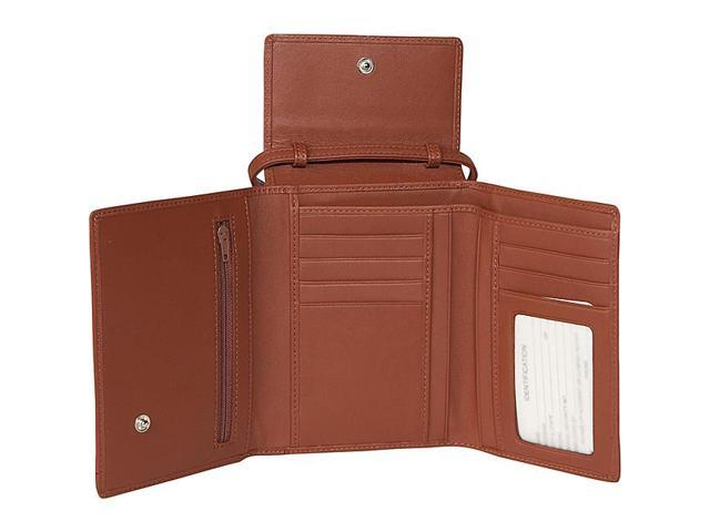 Royce Leather Deluxe Passport Case W/Removable Neck/Shoulder Strap